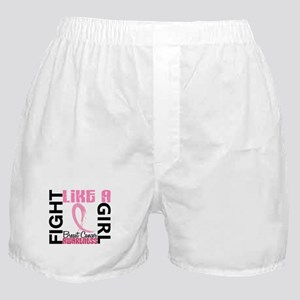 Licensed Fight Like a Girl 3.3 Boxer Shorts
