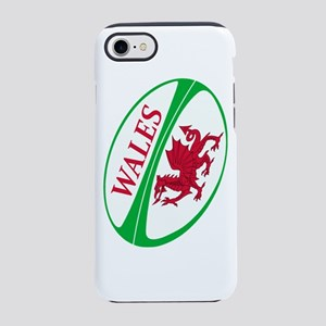 Wales Rugby Ball iPhone 7 Tough Case