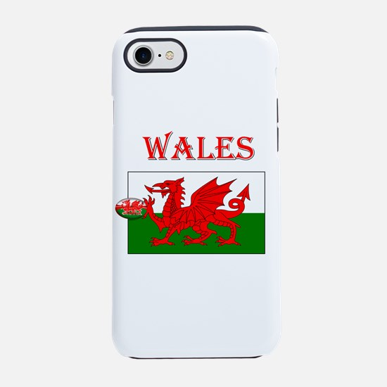 Wales Rugby iPhone 7 Tough Case