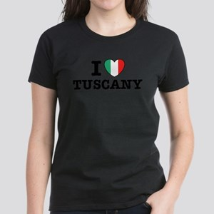 I Love Tuscany Women's Dark T-Shirt