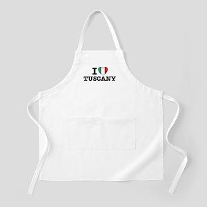 I Love Tuscany Apron