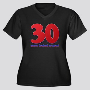 30 years never looked so good Women's Plus Size V-