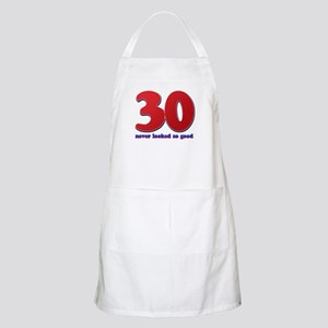 30 years never looked so good Apron