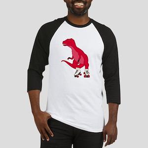 Tyrollersaurus t rex Baseball Jersey
