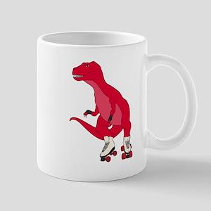 Tyrollersaurus t rex Mugs