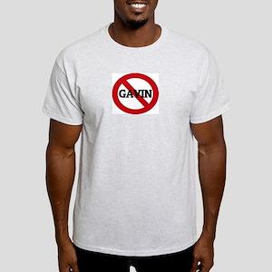 Anti-Gavin Ash Grey T-Shirt