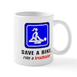 """""""Save a bike..."""" Mug"""