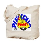 Pinocchio and FooT Tote Bag