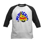 Pinocchio and FooT Kids Baseball Jersey