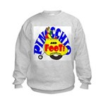 Pinocchio and FooT Kids Sweatshirt