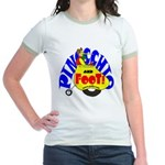 Pinocchio and FooT Jr. Ringer T-Shirt