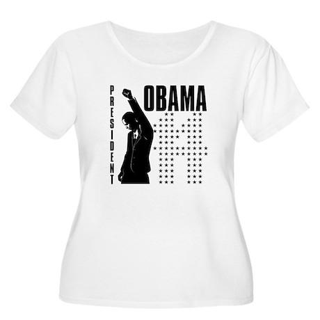 President Obama Women's Plus Size Scoop Neck T-Shi