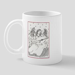 Angel with Instrument Mug