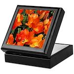 Orange Tulips Keepsake Box