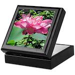 Pink Lotus Keepsake Box