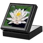 White Lotus Keepsake Box