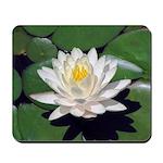 White Lotus Mousepad