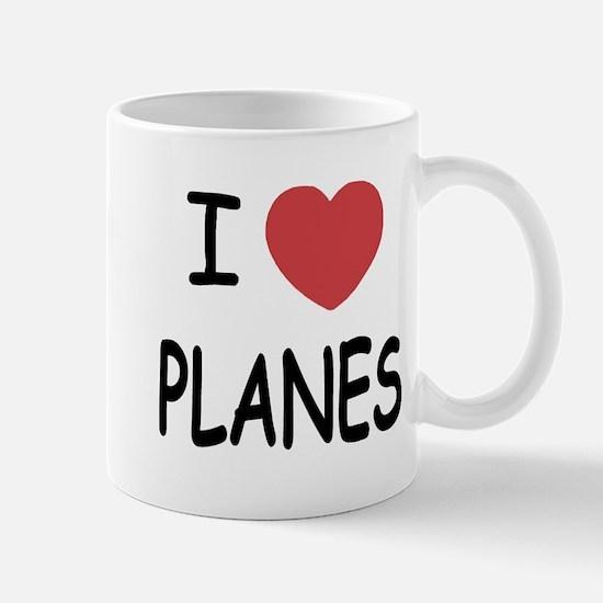 I heart planes Mug
