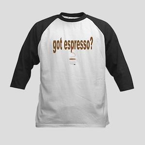 got espresso Kids Baseball Jersey