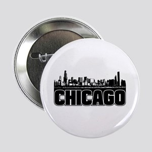 "Chicago Skyline 2.25"" Button"