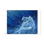Star Lion Mini Poster Print