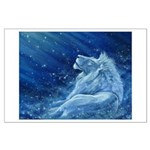 Star Lion Large Poster