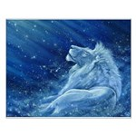 Star Lion Small Poster