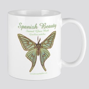 Stained Glass Moth Mug