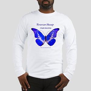 Peruvian Beauty, Morpho helena butterfly shirt