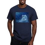 Star Lion Men's Fitted T-Shirt (dark)