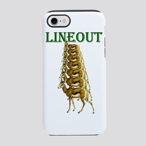 Springbok Rugby Lineout iPhone 7 Tough Case