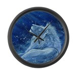 Star Lion Large Wall Clock