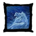 Star Lion Throw Pillow