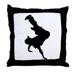 Original Breakdancing Throw Pillow