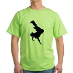 Original Breakdancing Green T-Shirt