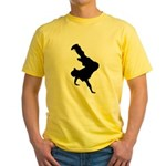 Original Breakdancing Yellow T-Shirt