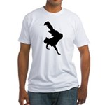 Original Breakdancing Fitted T-Shirt