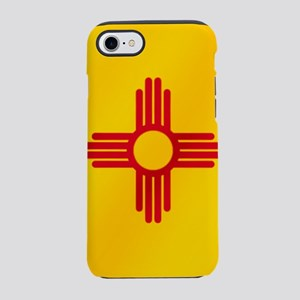 Flag of New Mexico iPhone 7 Tough Case