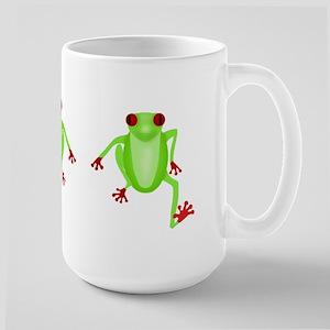 Tree Frog 15 oz Ceramic Large Mug