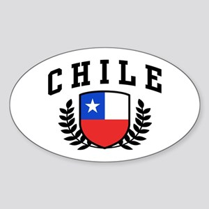 Chile Sticker (Oval)
