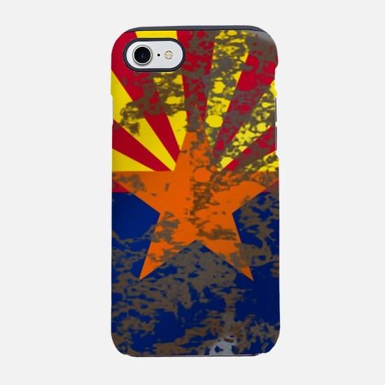 Retro Arizona Flag iPhone 7 Tough Case