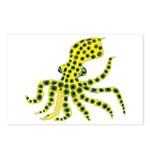 Blue Ringed Octopus Postcards (Package of 8)