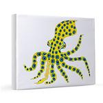 Blue Ringed Octopus 11x14 Canvas Print
