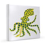 Blue Ringed Octopus 12x12 Canvas Print