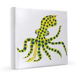 Blue Ringed Octopus 8x8 Canvas Print