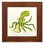 Blue Ringed Octopus Framed Tile