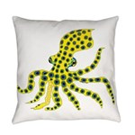 Blue Ringed Octopus Everyday Pillow