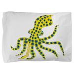 Blue Ringed Octopus Pillow Sham
