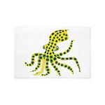 Blue Ringed Octopus 4' x 6' Rug
