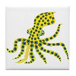 Blue Ringed Octopus Tile Coaster